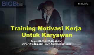 training motivasi, training motivasi karyawan, rif hadziq, motivator perusahaan