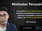 motivator indonesia, motivator perusahaan, motivator indonesia muda, rif hadziq, training motivasi,